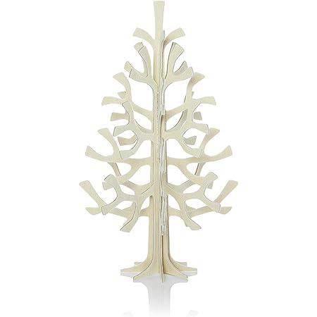 ロヴィ カード ミニクリスマスツリー 14センチ ナチュラルウッドSpruceTree14nw