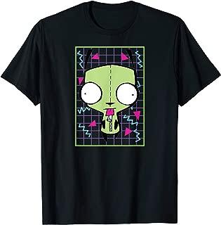 Invader Zim Gir 90s Grid T-shirt
