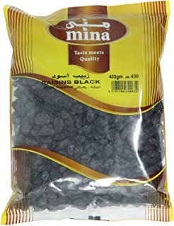Mina Raisins Black - 400 gm
