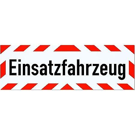 Lohofol Magnetschild Achtung Kolonne Schild Magnetisch Lieferbar In Drei Größen 35 X 10 Cm Auto
