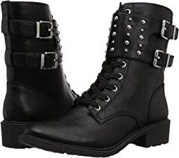 Black (Studded Strap) Waxy