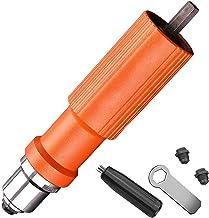 Elektrisk insats nötmutter pistol POP Riveting borrverktyg Trådlös munstycke Riveted Pneumatic Blind Rivet Adapter Rivetin...