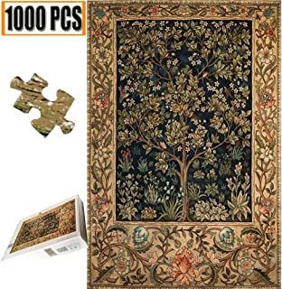 Cool Wall Decal Sticker Vinyl Jigsaw Puzzle 1000 Pieces Wooden Puzzles Artwork Art for Teen Adult Grown Up Puzzles Large Size Toy Educational Games Gift 1000 PCS (Life Tree)