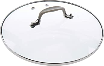 All-Clad 1500994207 Slow Cooker With Ceramic Black Insert Replacement Lid for SD710851, 4 quart, Glass