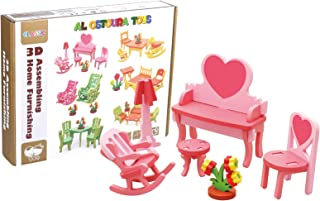 Al Ostoura Toys 3D Assembling Home Furnishing Educational Wooden Toy