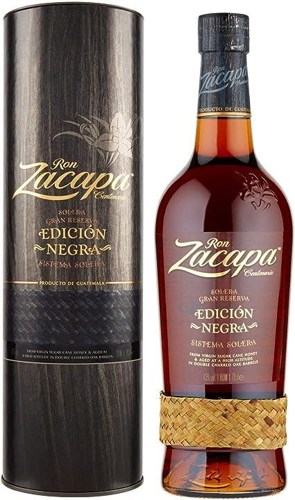 Rum zacapa edicion negra - 700 ml 713258