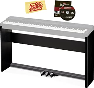 Casio CS-67 Digital Piano Stand - Black Bundle with Casio...