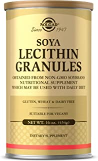 Solgar Lecithin Granules, 16 oz. - Supports Overall Health - Natural Soya Lecithin - Source of Choline & Essential Fatty A...