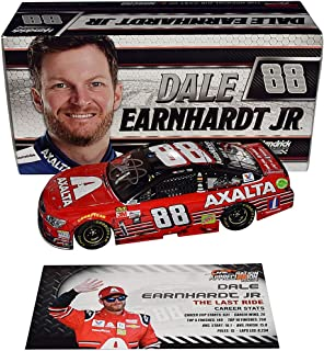 AUTOGRAPHED 2017 Dale Earnhardt Jr. #88 Axalta HOMESTEAD FINAL RIDE RACED VERSION (The Last Ride) Monster Energy Series Signed Lionel 1/24 Scale NASCAR Diecast Car with COA (1 of only 2,188 produced!)