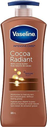 Vaseline Intensive Care Body Lotion for dry skin Cocoa Radiant moisturizing 600 ml