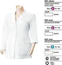 Casaca Sanitaria de Manga Larga con Estilo Bata Camisa de sanidad. Bata de sanidad Entallada