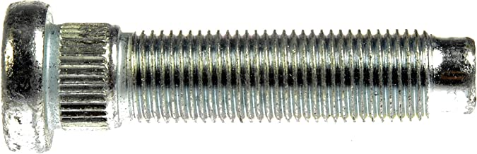 Dorman 610-471 Front 9/16-18 Serrated Wheel Stud - .645 in. Knurl, 2.52 in. Length for Select Dodge Models