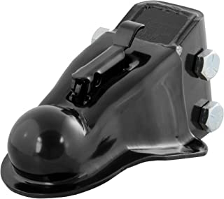 CURT 25330 Channel-Mount Adjustable Trailer Coupler Accepts 2-5/16-Inch Hitch Ball, 14,000 lbs