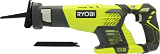 Ryobi P514 18V Cordless One+ Variable Speed Reciprocating Saw w/ 2 Blades (Batteries Not Included / Power Tool Only)