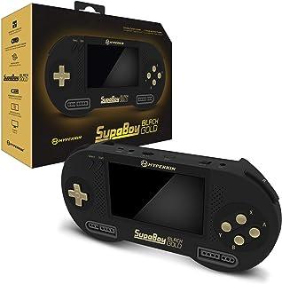 Hyperkin SupaBoy Blackgold Portable Pocket Console for Super NES/Super Famicom - Super NES