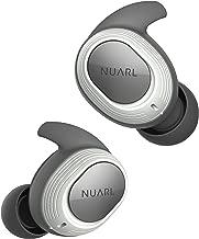 [アウトレット] NUARL IPX7完全防水(水洗い可能) 4時間再生(最大28時間再生) マイク・リモコン付 軽量4g Bluetooth5 左右独立ステレオ 完全ワイヤレスイヤホン NT100(S)-WH ホワイト [メーカー直販Amazon専売]
