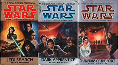 Star Wars Jedi Academy Trilogy - Jedi Search / Champions of the Force / Dark Apprentice - All 3 Books (Star Wars Jedi Acad...