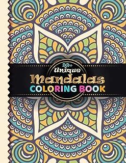 99+ Unique Mandala Coloring Book: 100 Fantastic Mandala Coloring Book with GreatOriginal Hand Drawn Mandala Designs Printed and Over 100 Different Mandalas