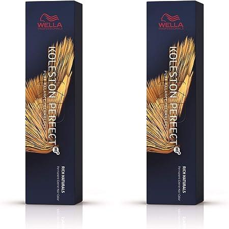 Wella Pack de 2 Koleston Perfect Me+ KP Rich Naturals 7/18 rubio medio ceniza perl