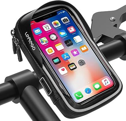 Daorier Waterproof Bike Housse de V/élo de Moto ABS Protecteur Support T/él/éphone Mobile Portable de 360/° Support de V/élo R/ésistant /à leau pour iphone 6 plus et le m/ême t/él/éphone de taille 1
