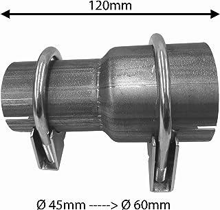 Universel Tuyau d/'échappement Section Connecteur Menuisier 54 mm