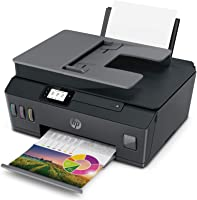 HP Smart Tank 530 Dual Band WiFi Colour Printer with ADF, Scanner and Copier for Home/Office, High Capacity Tank (18000...