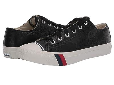 Pro-Keds Pro-Keds Royal Lo Core Leather (Black Leather 2) Men