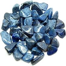dumortierite tumbled stone