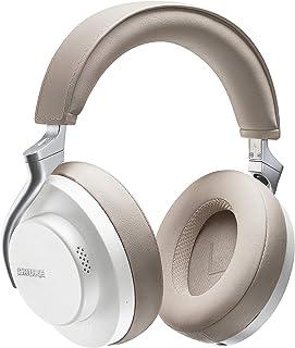 SHURE シュア AONIC 50 ワイヤレス・ノイズキャンセリング・ヘッドホン SBH2350-WH-A ホワイト : 密閉型/外音取り込み/Bluetooth 5.0 / Type-C ケーブル/マイク付き 【国内正規品/メーカー保証2年】 中
