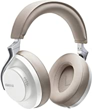 SHURE SBH2350-WH-A AONIC 50 Wireless Noise Cancelling Headphones, White: Airtight, Metallic, Bluetooth 5.0, Type-C Cable, Microphone