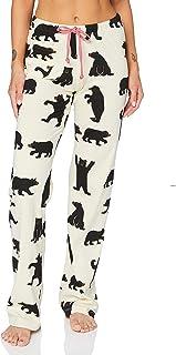 Hatley Little Blue House Womens Bear Family Pajamas, Women's Jersey Pajama Pants