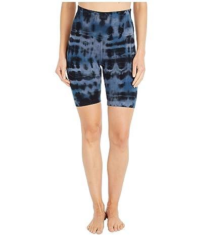 Hard Tail Flat Waist Bike Shorts (Cloud Wash # 1) Women
