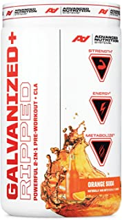 Advanced Nutrition Systems Galvanized Strength Powerful 2-in-1 Pre-Workout Creatine - Orange Soda
