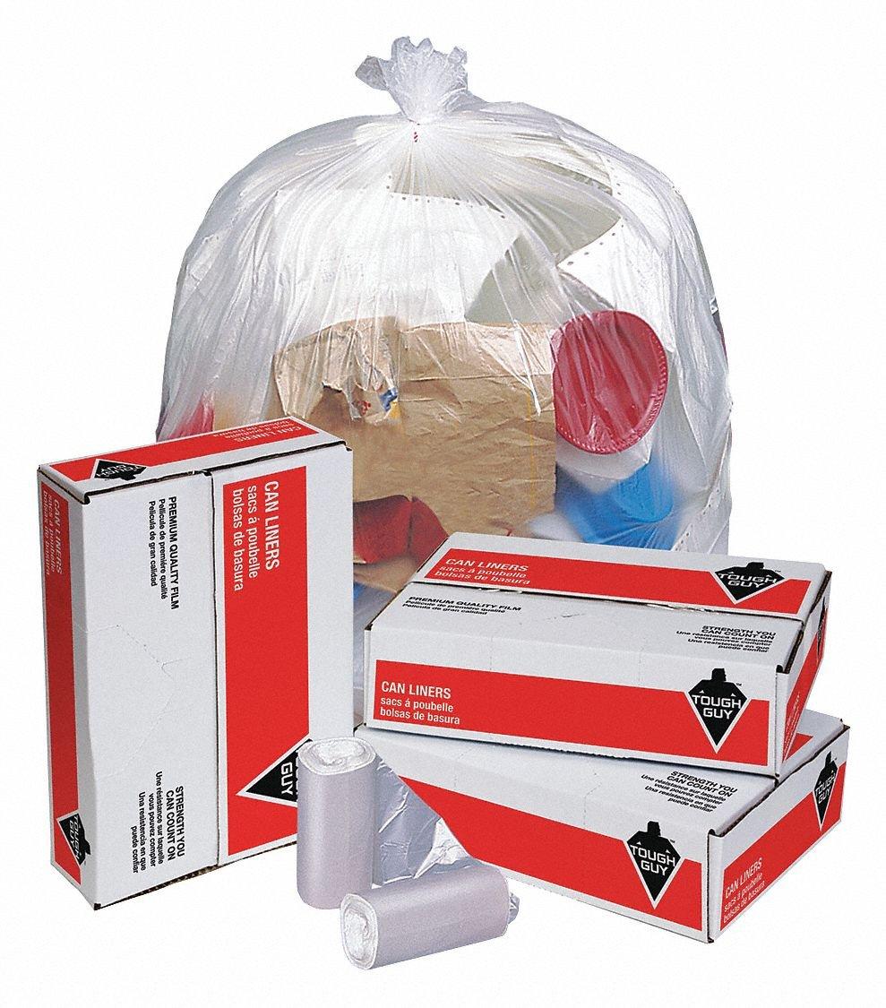 Portland Mall Trash Bags 33 gal Free Shipping Cheap Bargain Gift Micron 12 PK250