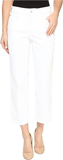 NYDJ Marilyn Relaxed Capris in Endless White
