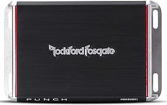 Rockford Fosgate PBR300X1 Punch 300 Watt Mono Boosted Rail Amplifier