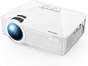 Mini Projector, DBPOWER GP15 Projector with 50,000-hour LED Life, 50% Brighter Multimedia..