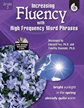 Increasing Fluency with High Frequency Word Phrases Grade 3 (Increasing Fluency Using High Frequency Word Phrases)