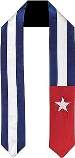 Cuba Flag Graduation Sash/Stole International Study Abroad Adult Unisex