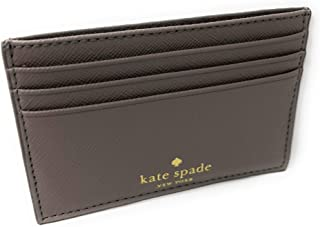Kate Spade New York Graham Greta Court Wallet Business Credit Card Case Glitter City Scape