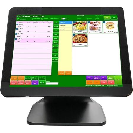 PTE0205W-8-240 Windows 10 for Restaurant Retail for Aldelo pcAmerica Maid Quickbooks 3nStar AIO Pos System i5 8GB RAM 240GB SSD HD