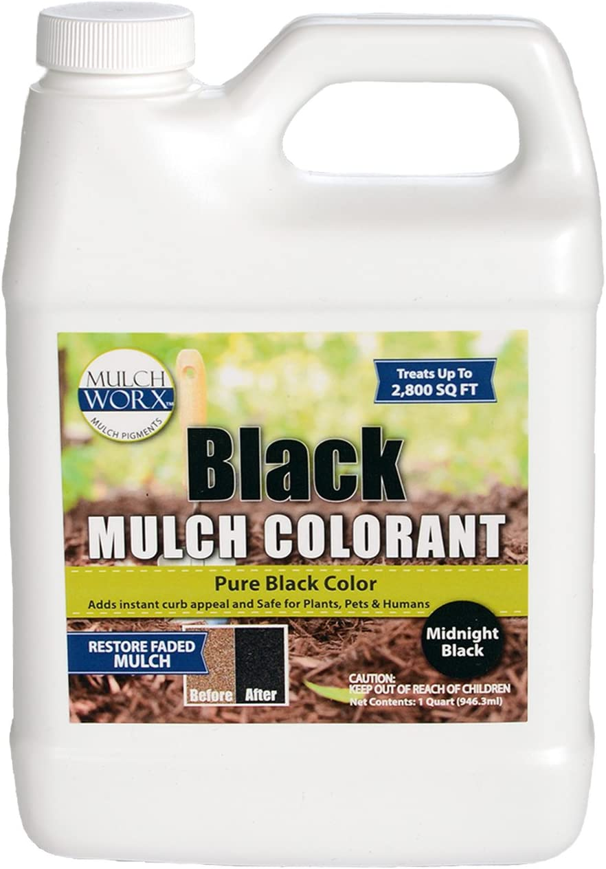 MulchWorx Black Mulch Color Concentrate Be super welcome - 2 Pure Ft. 800 M Sq. Super popular specialty store