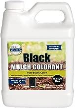 MulchWorx Black Mulch Color Concentrate - 2,800 Sq. Ft. - Pure Midnight Black Mulch Dye Spray