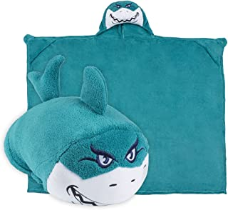Comfy Critters Stuffed Animal Blanket – Shark – Kids Huggable Pillow and Blanket Perfect for Pretend Play, Travel, nap time.