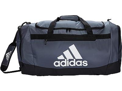 adidas Defender 4 Large Duffel Bag (Grey/Team Onix) Handbags