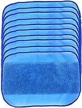 Matefield Washable Mop Cloth Wet Mopping Pad For Irobot 380T 320 4200 5200C Vacuum (10Pcs Blue) 10pcs Blue