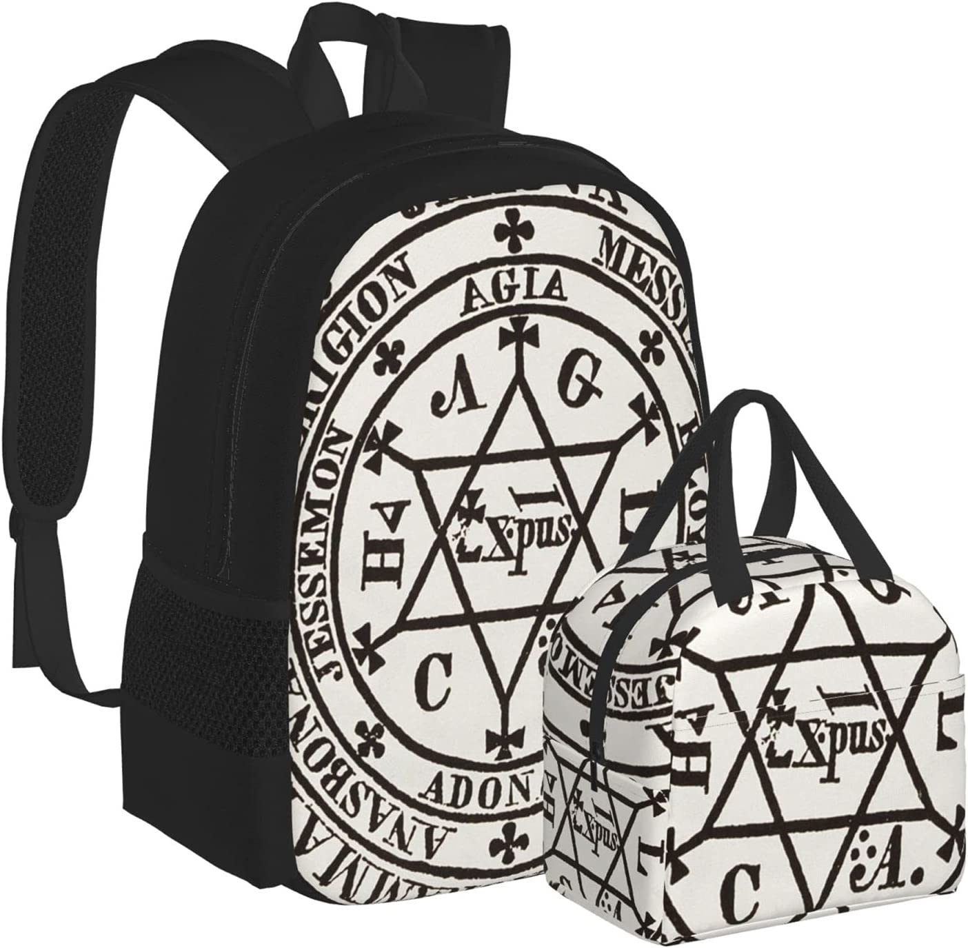 Schoolbag Backpack Great Magic Circle Scho Demons New Orleans Mall Satanic For Raleigh Mall Of