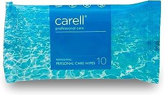 Carell Professional Care - verfrissende doekjes voor persoonlijke verzorging, 10 stuks doekjes - zacht, dermatologisch get...