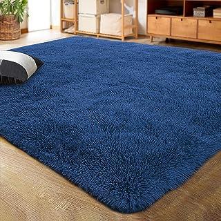 LOCHAS Ultra Soft Indoor Modern Area Rugs Fluffy Living...