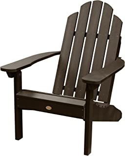 Highwood AD-CLAS1-ACE Hamilton Adirondack Chair, 29.75W x 34.5D x 39.5H in. in, Weathered Acorn